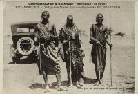 Indigènes Masaï des montagnes du Kilimanjaro