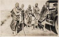 nil (femmes Masai et voiture)