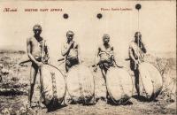 Masai. British East Africa