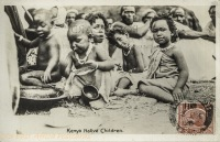 Kenya Native Children