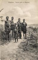 Mombasa. Vanika Girls at Mazeras
