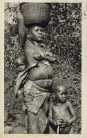 KENYA COLONY. A Nandi mother.