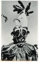 Kuria man wearing Mask