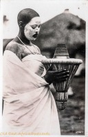 nil (facial painting, ritual object)