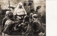 A nun teaching Akikuyu girls