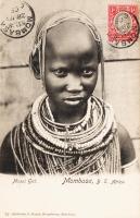 Masai Girl. Mombasa, B.E.A.
