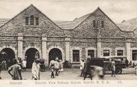 Exterior view. Railway Station. Nairobi B.E.A.