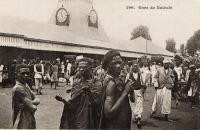 Railway Station. Nairobi B.E.A.