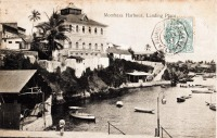 Mombasa harbour - Landing place