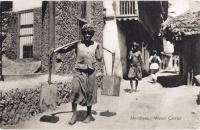 Mombasa. Water carrier