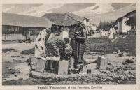 Swahili Waterwomen at the Fountain, Zanzibar