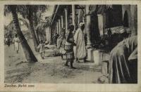 Zanzibar, Market scene