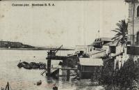 Customs Pier. Mombasa B.E.A.