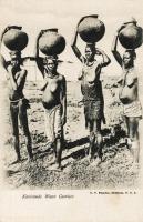 Kavirondo water carriers