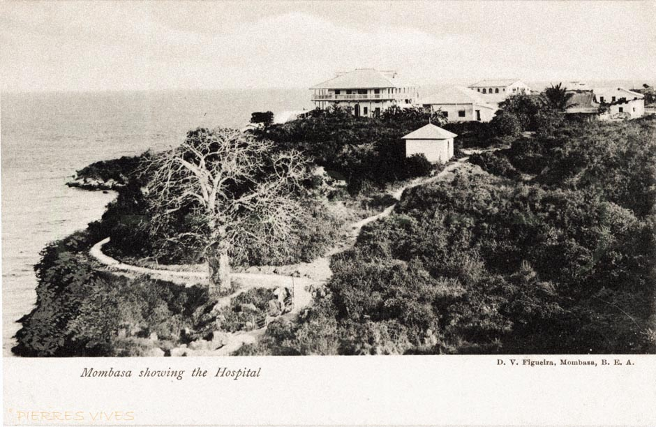 Mombasa showing the Hospital