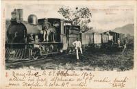 Uganda Railway waiting for Water, Mombasa
