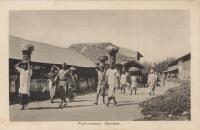 Fruit-runners, Zanzibar