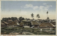 Native village, Zanzibar