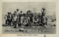 Zanzibar, Native Water Carriers