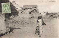 Une rue à Mombasa