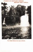 The Thika falls (on the way to Kenya)