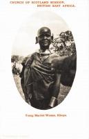 Young Masai woman, Kikuyu