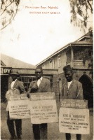 Newspaper Boys, Nairobi B.E.A.