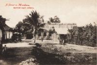 A Street in Mombasa, B.E.A.