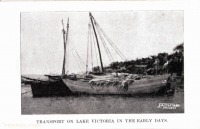 Transport on Lake Victoria in the early days