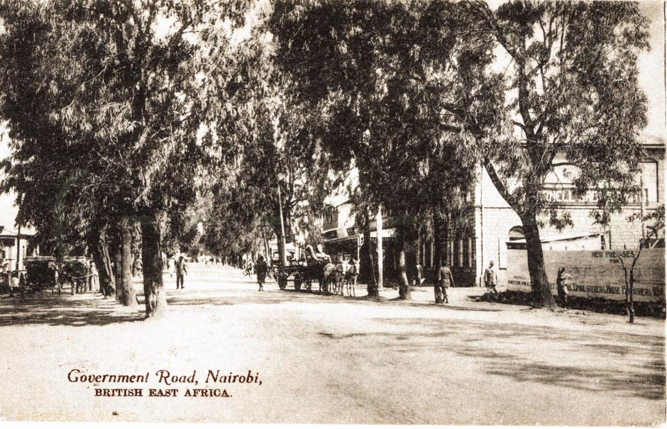 Government Road, Nairobi B.E.A.