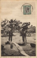 Method of carrying Children. Gulu Districs, Uganda