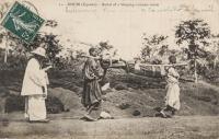 KISUBI (Uganda) Burial of a Sleeping-sickness victim