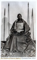 The Omukama of Bunyoro, in ceremonial dress