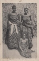 An Uganda Princess (the tallest figure)