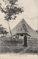Mtesa's Tomb. Mengo, Uganda