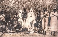 Sœurs Blanches en visite chez les lépreux