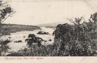 Nile rapids below Ripon Falls, Uganda