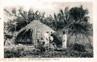 Method of building a native hut, Uganda