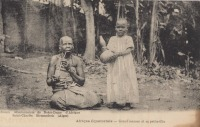 Grand'maman et sa petite fille
