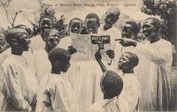 Group of Shool Boys. Mengo High School. Uganda