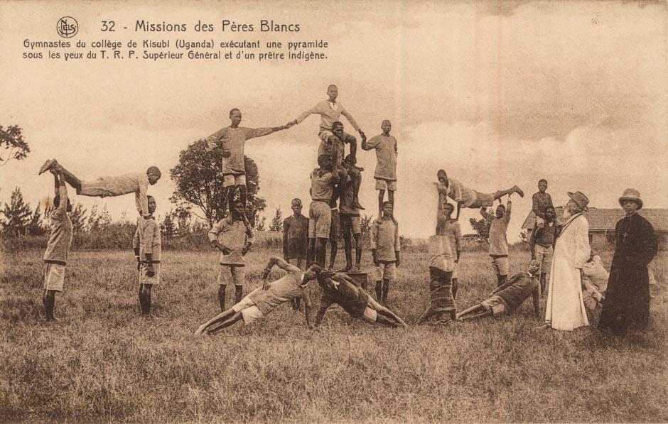 Gymnastes du Collège de Kisubi (Uganda)