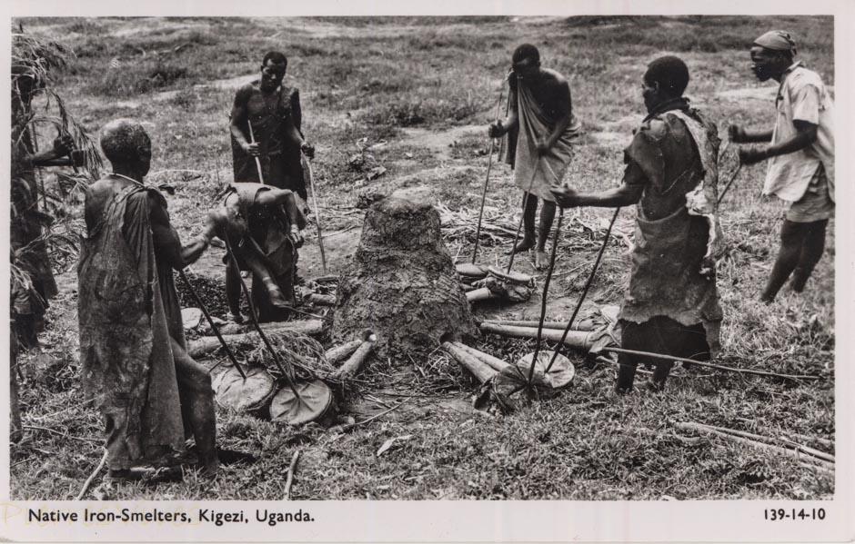 Native Iron-Smelters, Kigezi, Uganda