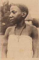 Type de jeune fille Muganda (Ouganda)