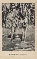 Wood Carriers. Ruwenzori