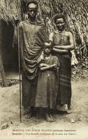 Ruanda - Une famille chrétienne de la caste des Batutsi