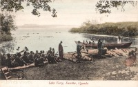 Lake Ferry, Entebbe, Uganda