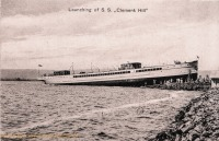 "Launching of S.S. ""Clement Hill"""