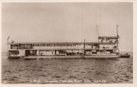 "S.W.S. ""Lugard"" on the River Nile, Uganda"