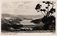 Lake Bunyonyi, Kigezi. Uganda