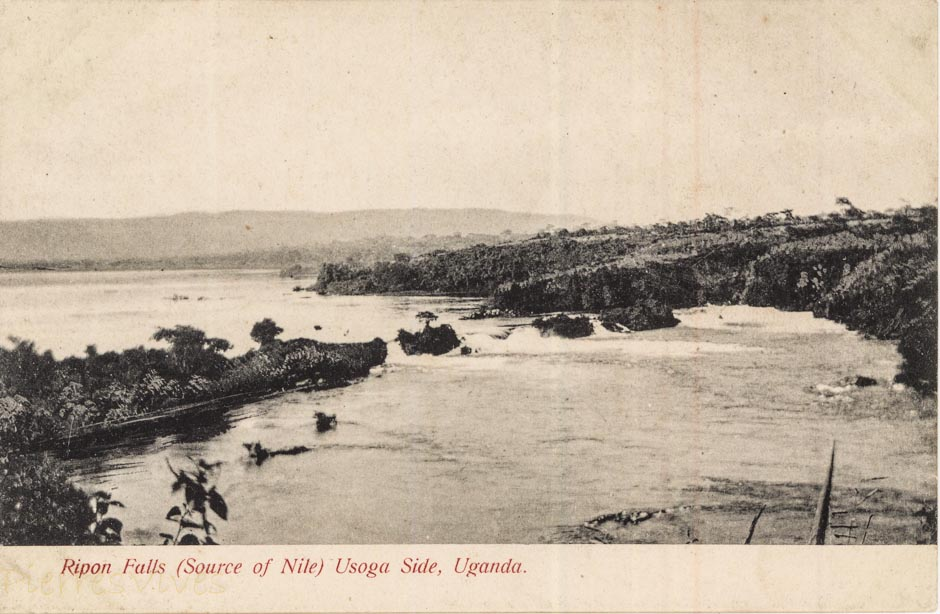 Ripon Falls (Source of Nile) Usoga side, Uganda